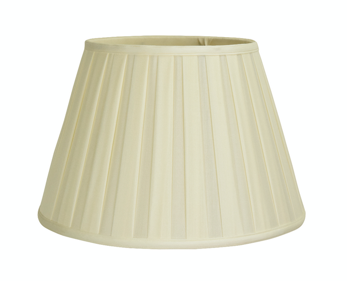 Pleated Empire Lampshades, Silk