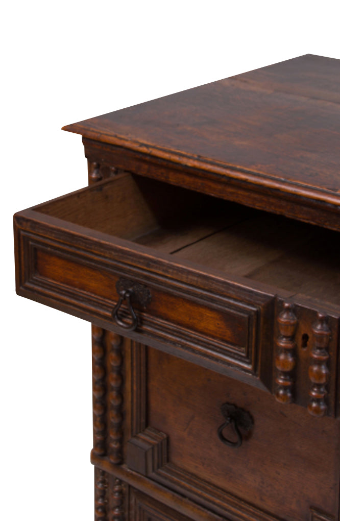 Surprising Antique Jacobean Style Chest Of Drawers Oak Ibusinesslaw Wood Chair Design Ideas Ibusinesslaworg