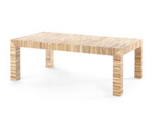 Parsons Style Coffee Table