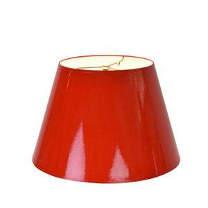 Red Lacquer Lampshades