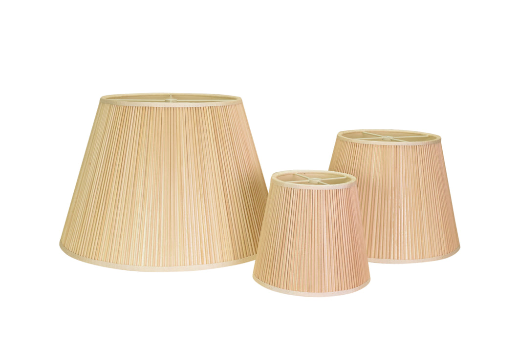 Natural Matchstick Lampshades