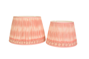 Pleated Ikat Lampshades