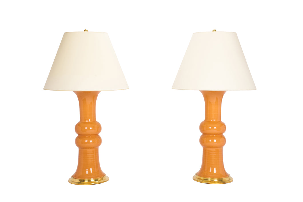 A Pair of Christopher Spitzmiller Sophie Lamps