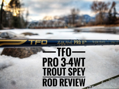 TFO Pro 3-4wt Trout Spey Review | Raft and Fly