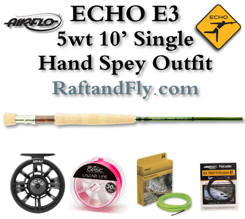 Echo E3 5100 5wt 10' Single Hand Spey Outfit