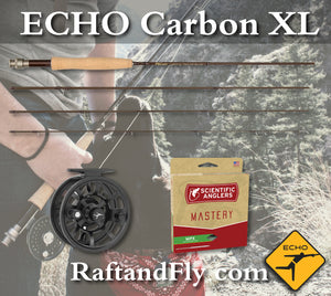 Echo Carbon XL 4wt 484 outfit sale
