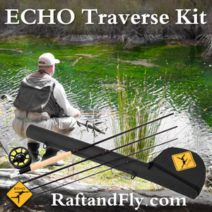 Echo Traverse Kit 6wt fly rod outfit sale
