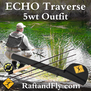 Echo Traverse 5wt fly rod outfit
