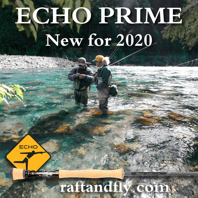 Echo Prime 11wt 2 piece fly rod sale