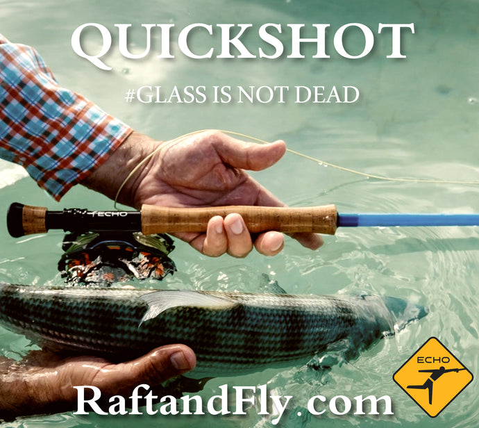 ECHO BAG Quickshot glass fly rod sale $279