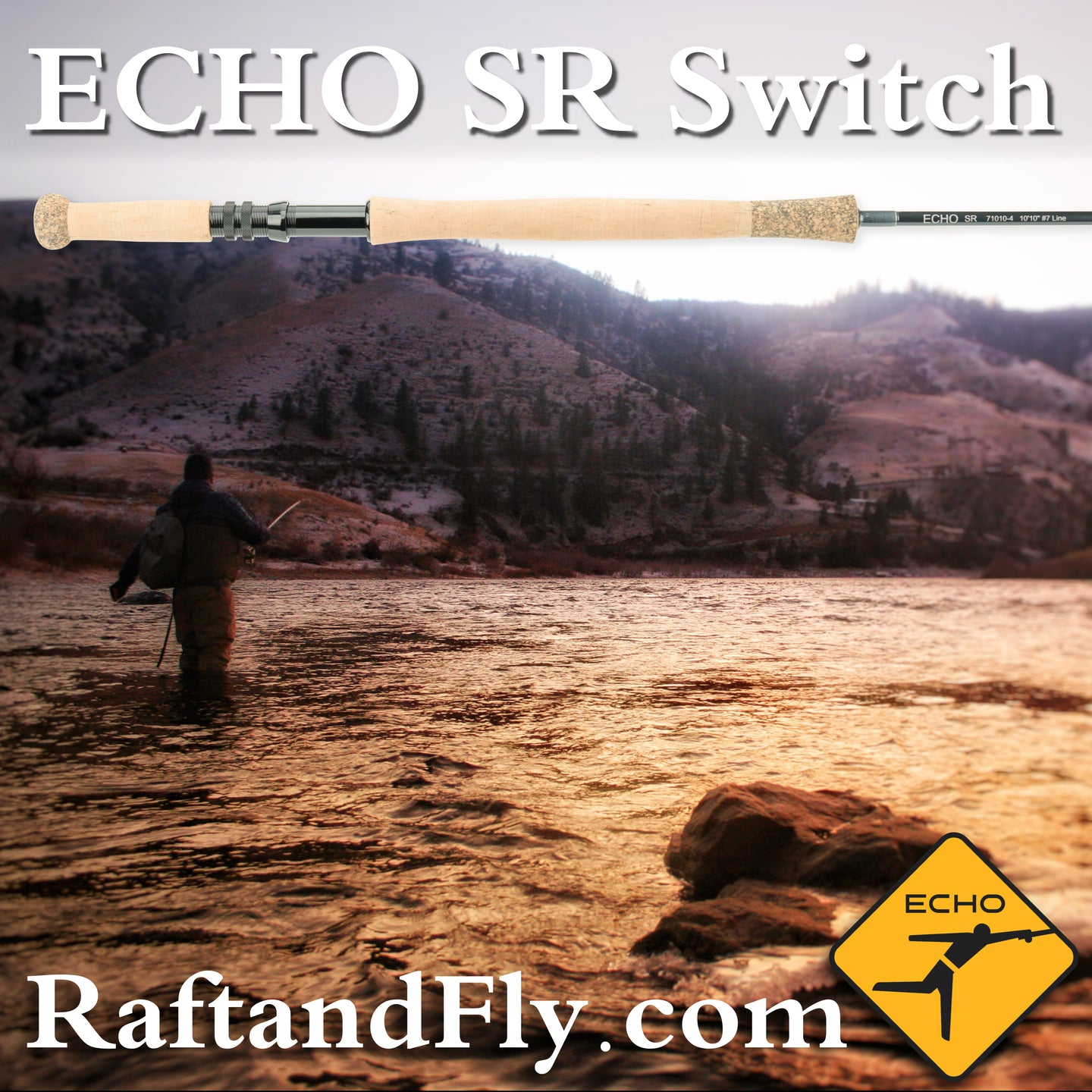Echo SR Switch 5wt Trout Spey sale