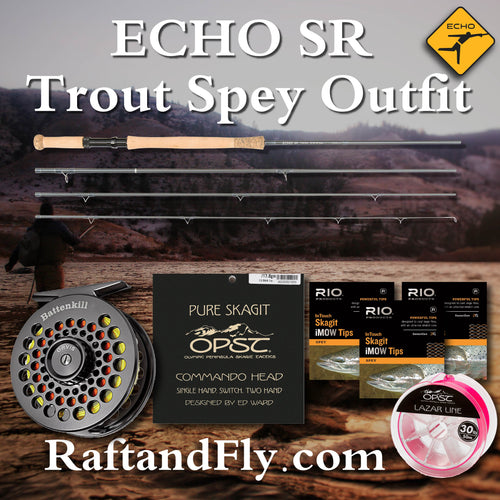 Echo SR 4wt complete trout spey outfit sale
