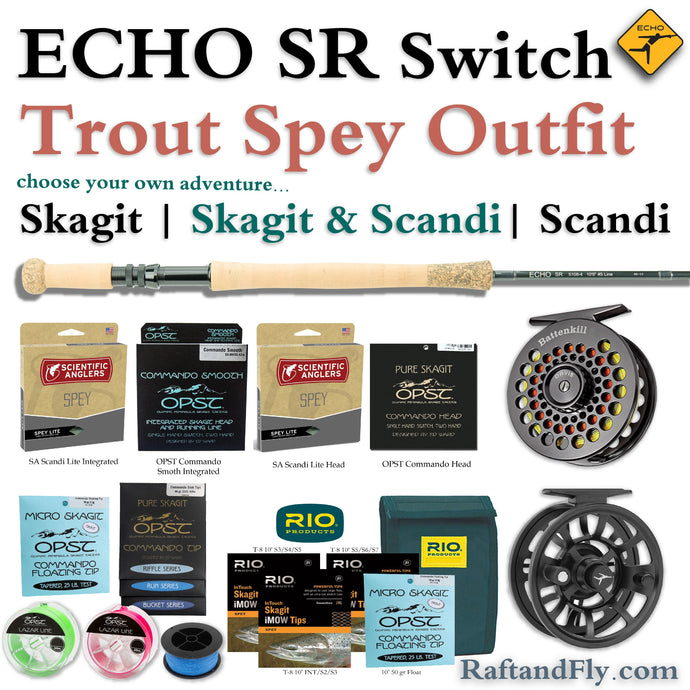 Echo SR 3wt Trout Spey Outfit