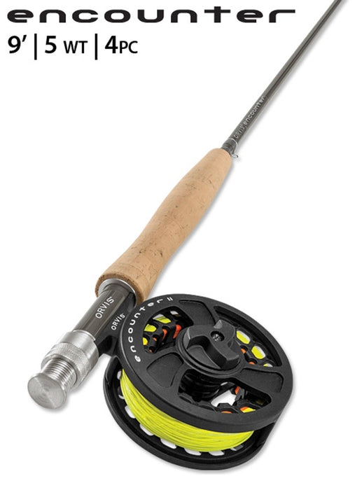 Orvis Encounter 5wt fly rod outfit package sale