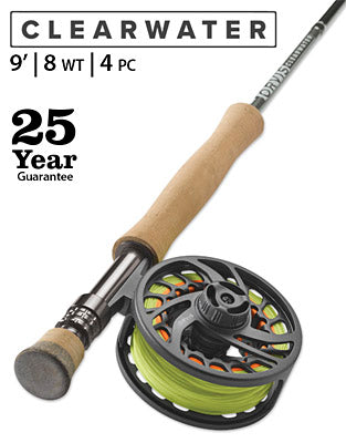 Orvis Clearwater 8wt fly rod sale