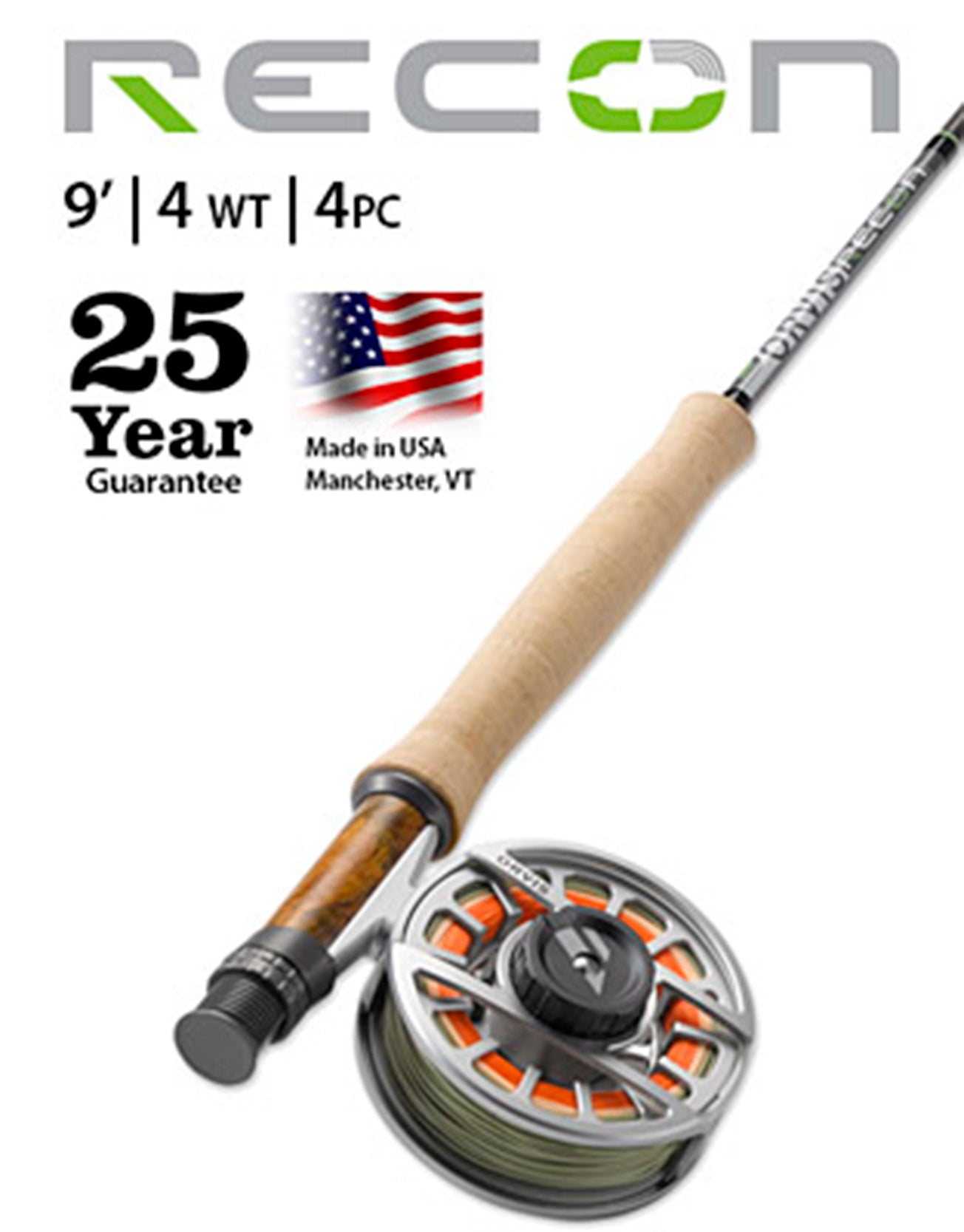 New 2020 Orvis Recon 4wt sale