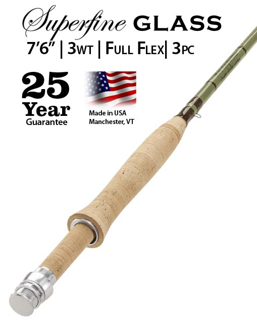 Orvis Superfine 3wt fly rod sale