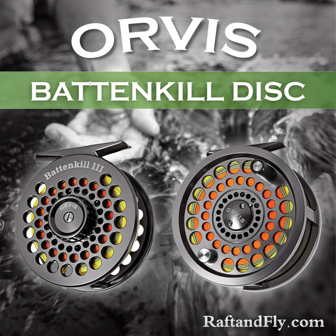 Orvis Battenkill Disc II Reel 3/5wt sale