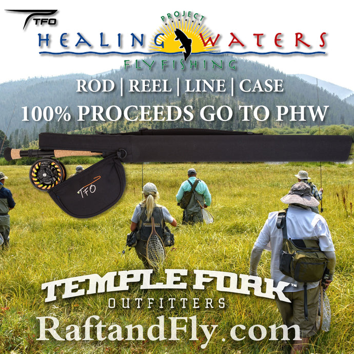 TFO Project Healing Waters 5wt kit sale