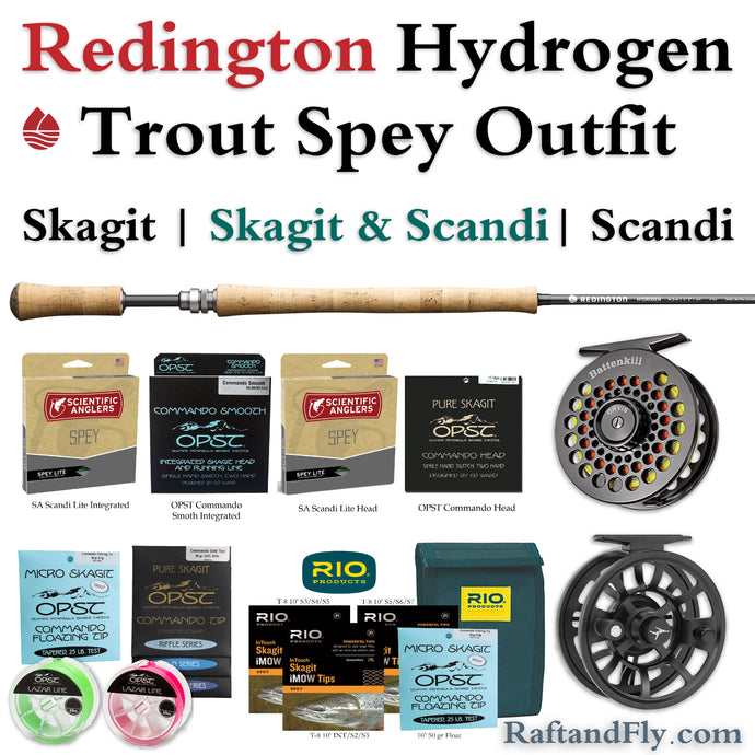 Redington Hydrogen 3wt Trout Spey package sale