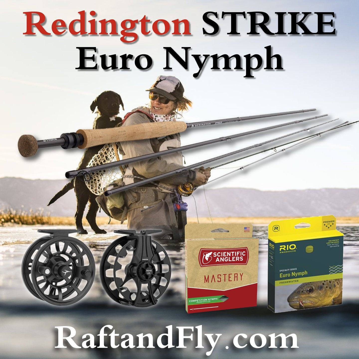 Redington Strike Euro Nymph 10'6
