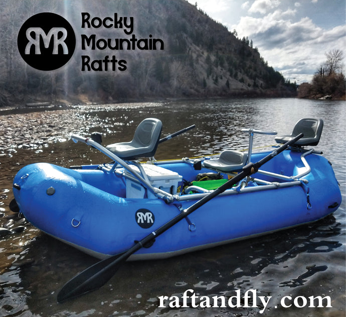 Rocky Mountain Rafts 13 NRS Fishing Frame raft package sale
