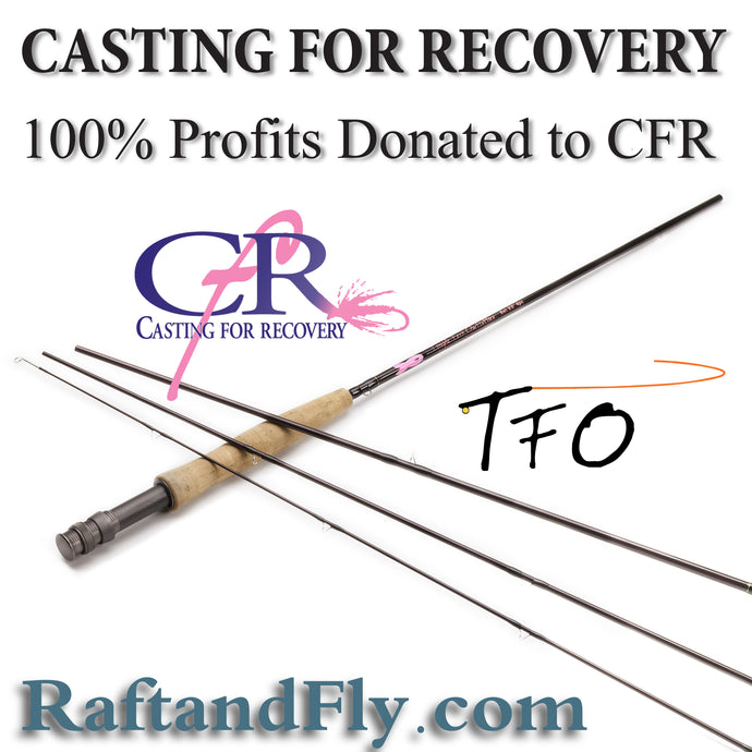 TFO CFR Casting for Recovery fly rod sale