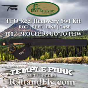 TFO Reel Recovery 5wt kit sale