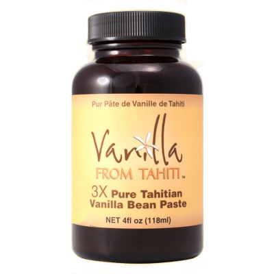 Tahitian Vanilla Bean Paste Triple Strength - 4fl oz