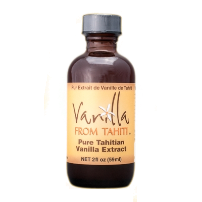 Tahitian Vanilla Extract - 2fl oz Double Strength
