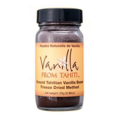 Ground Vanilla Bean Powder 25g
