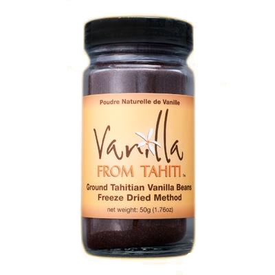 Ground Vanilla Bean Powder 50g