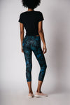 Women's 7/8 Legging - Midnight Protea