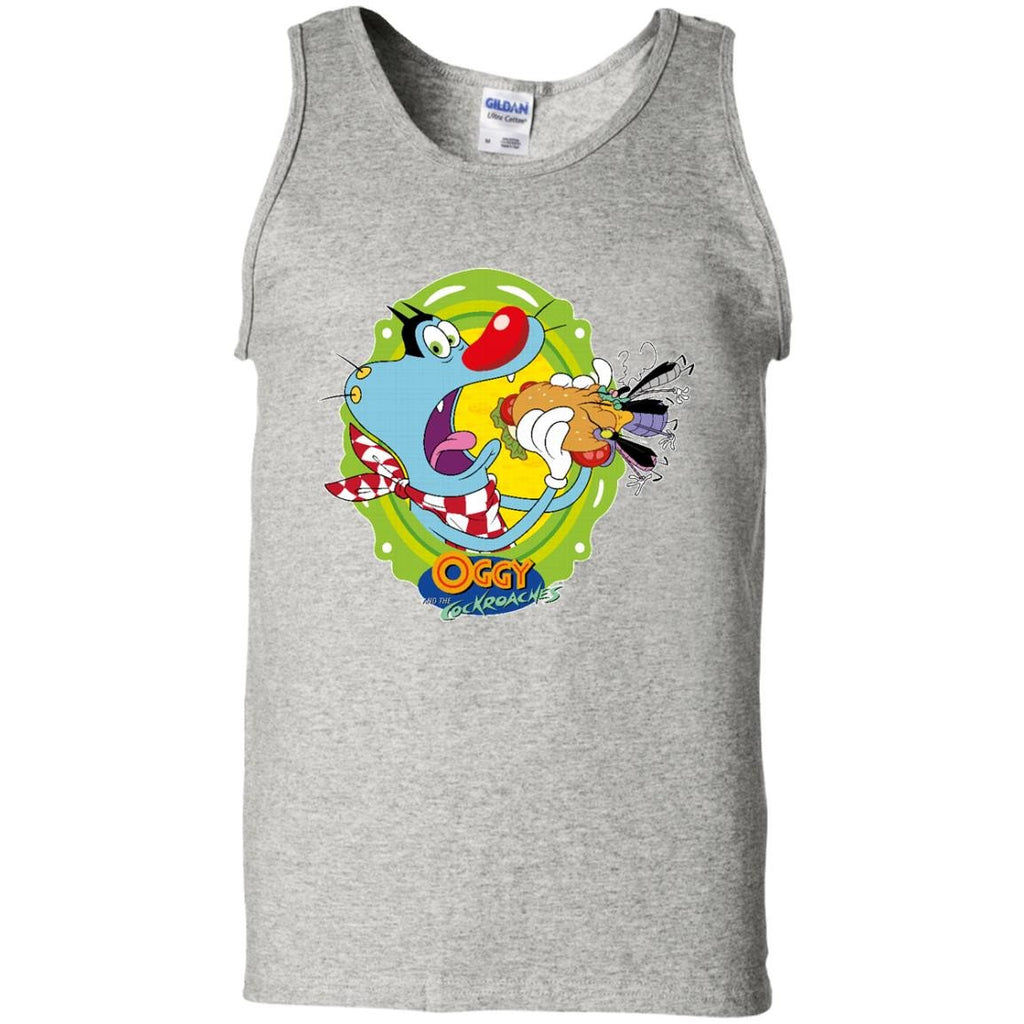 Oggy Sandwich - 100% Cotton Tank Top