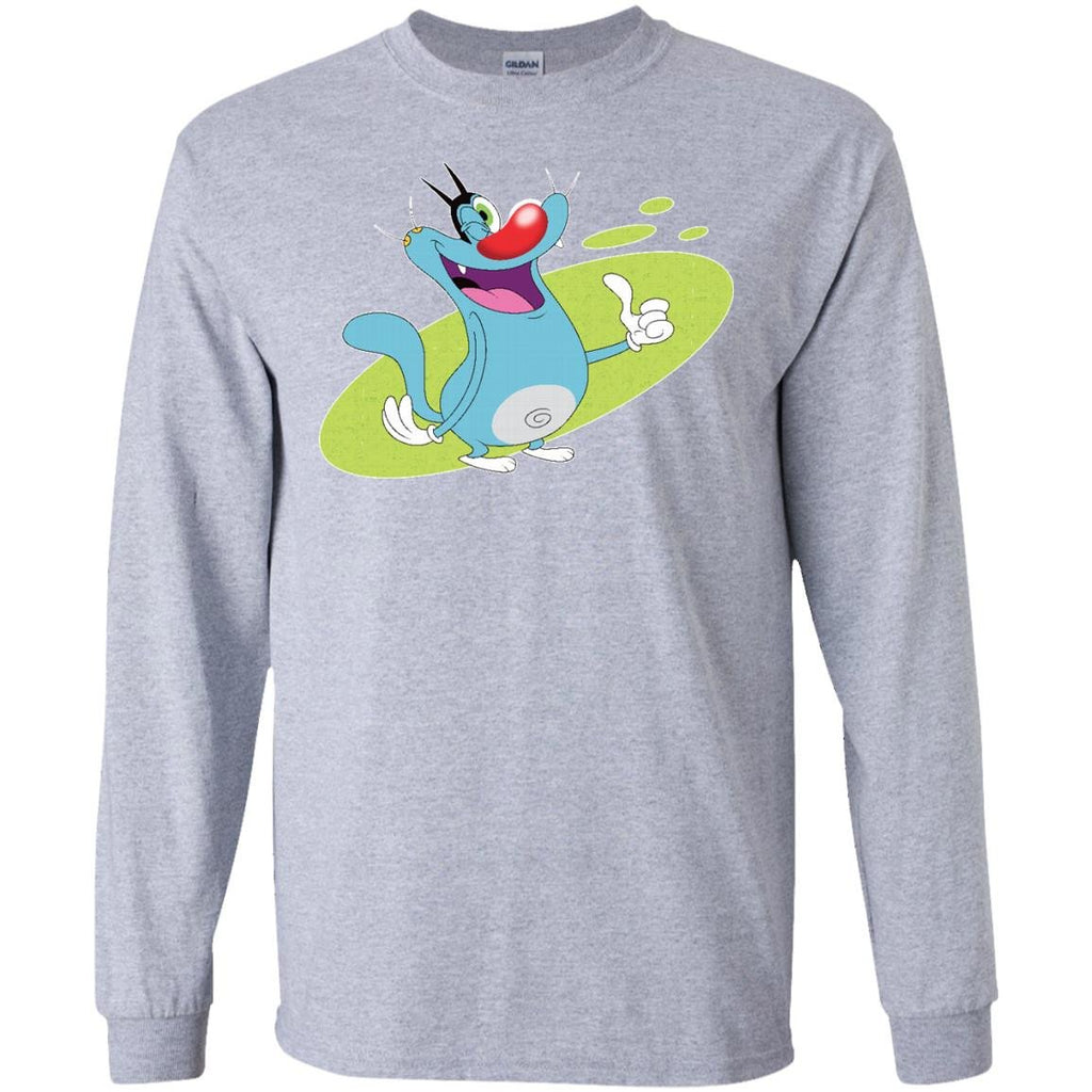 Oggy Wink - LS Ultra Cotton T-Shirt