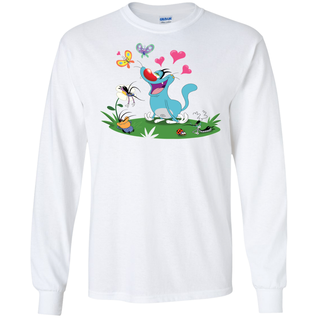 In The Air - LS Ultra Cotton T-Shirt