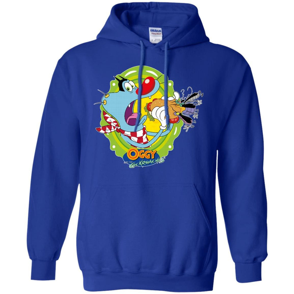 Oggy Sandwich - Pullover Hoodie 8 oz.