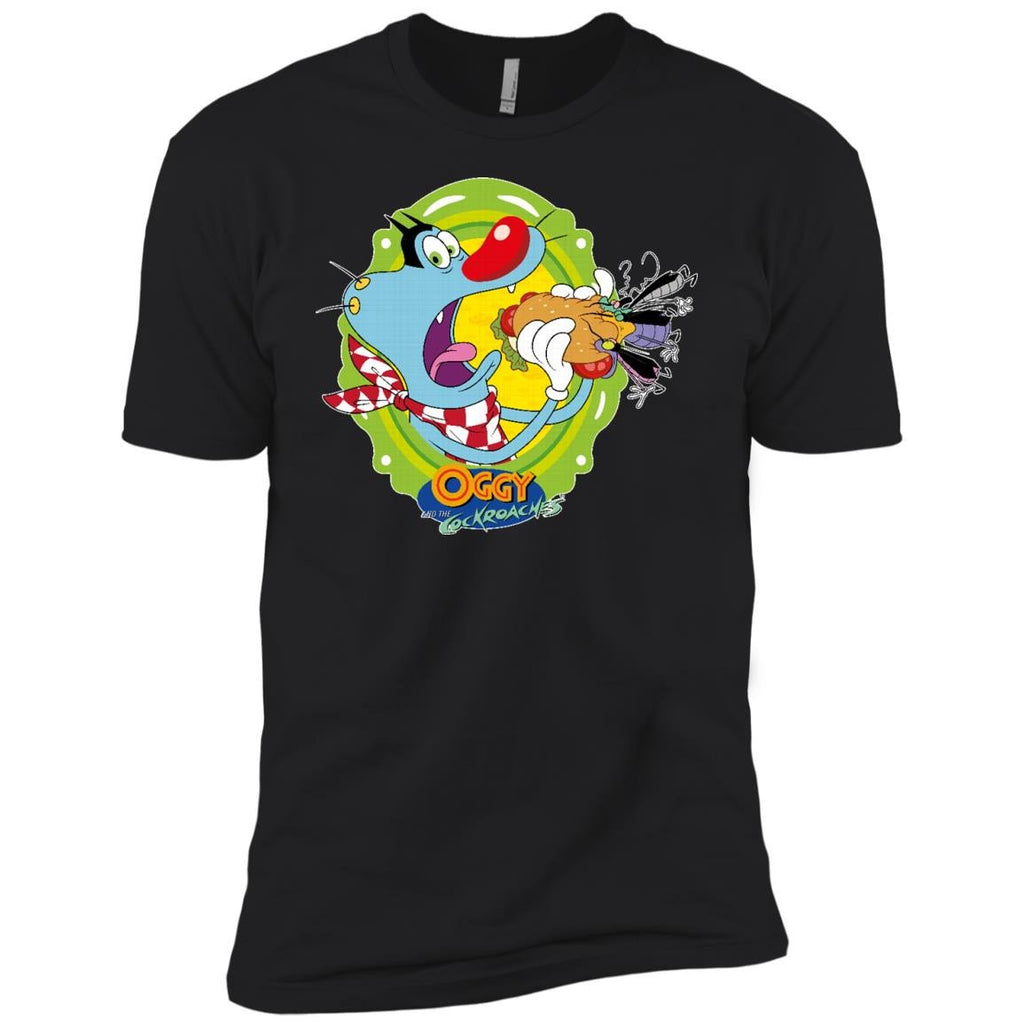 Oggy Sandwich - Boys' Cotton T-Shirt