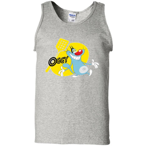 Oggy - 100% Cotton Tank Top