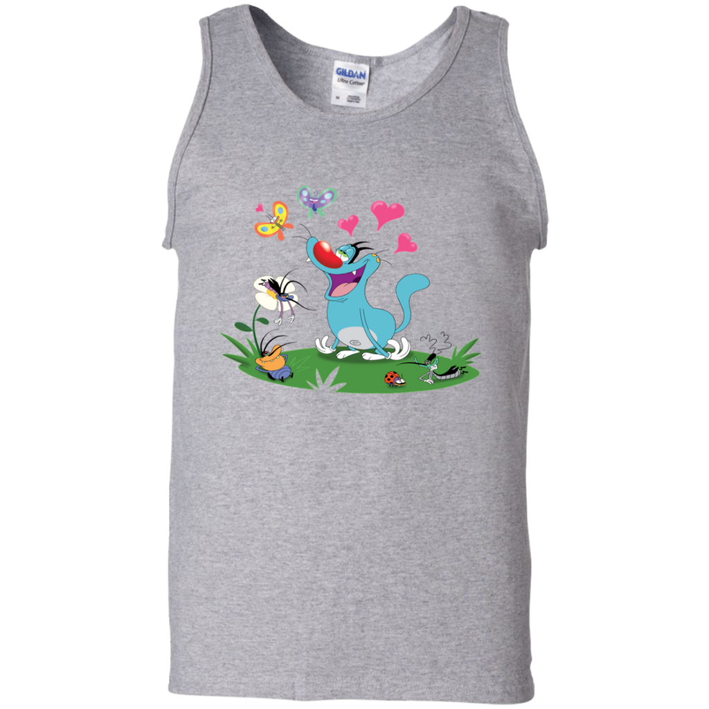 In The Air - 100% Cotton Tank Top