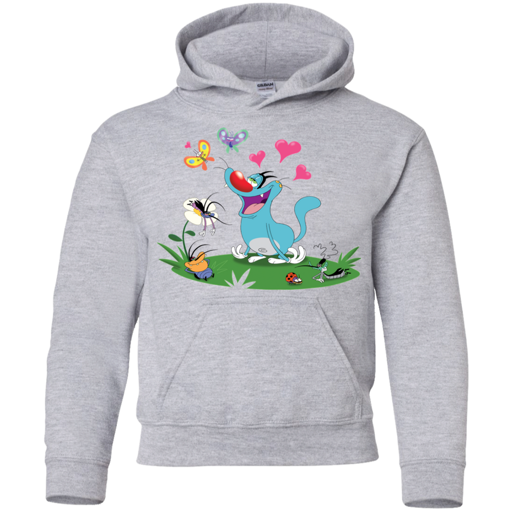 In The Air - Youth Pullover Hoodie