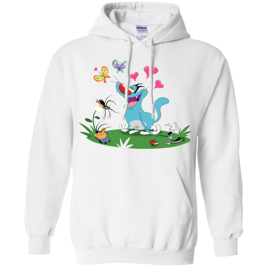 In The Air - Pullover Hoodie 8 oz.