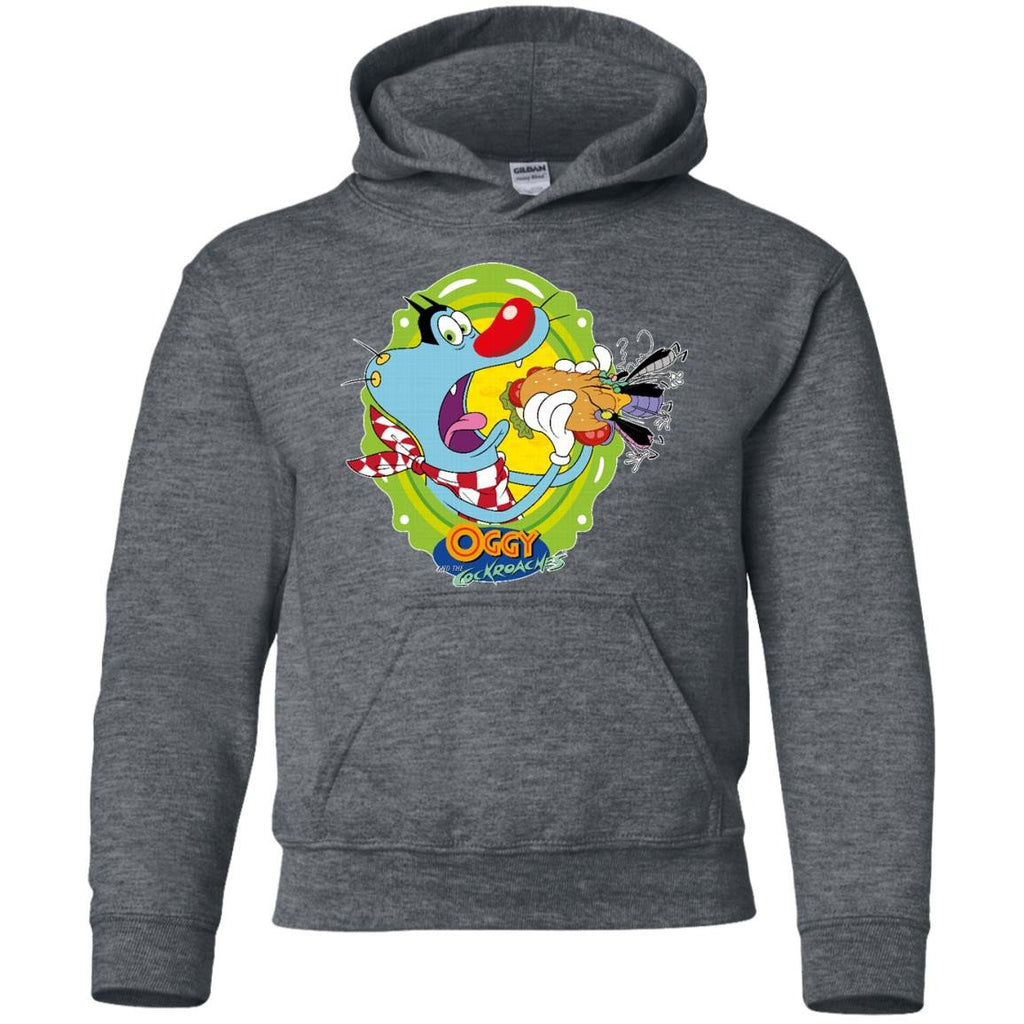 Oggy Sandwich - Youth Pullover Hoodie