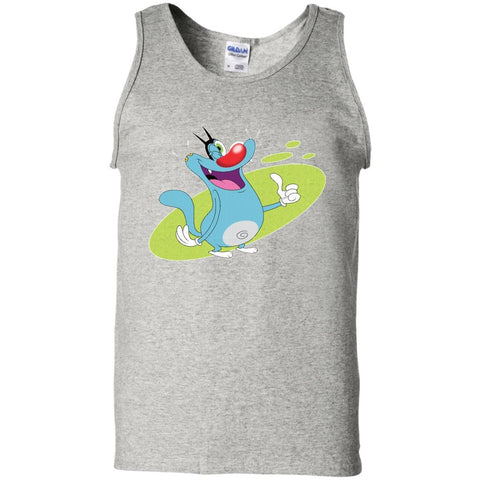 Oggy Wink - 100% Cotton Tank Top