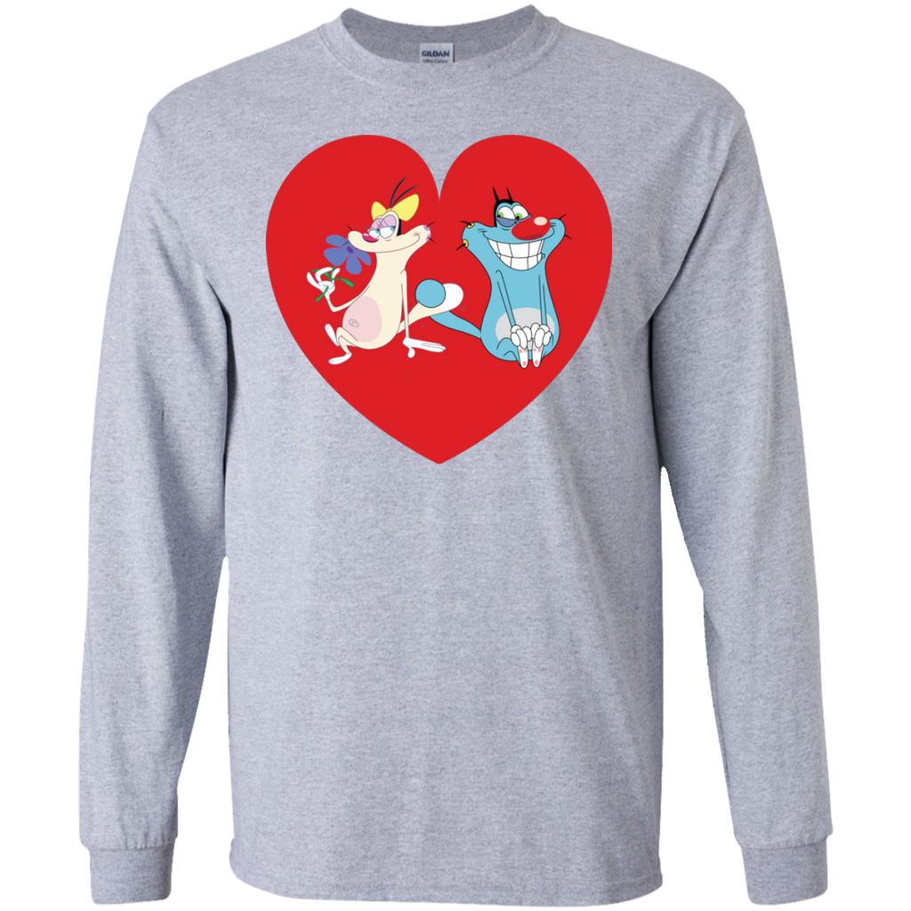 Heart - LS Ultra Cotton T-Shirt