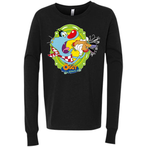 Oggy Sandwich -  Youth Jersey LS T-Shirt