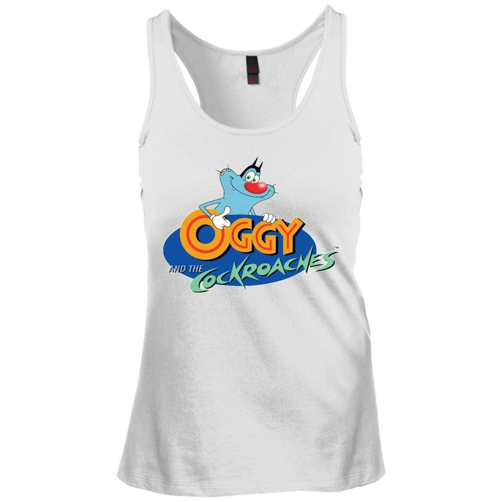 Title - Junior's Racerback Tank Top