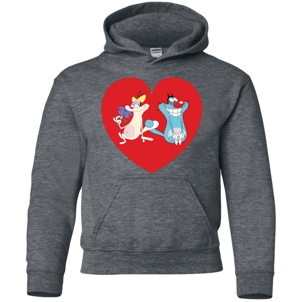 Heart - Youth Pullover Hoodie