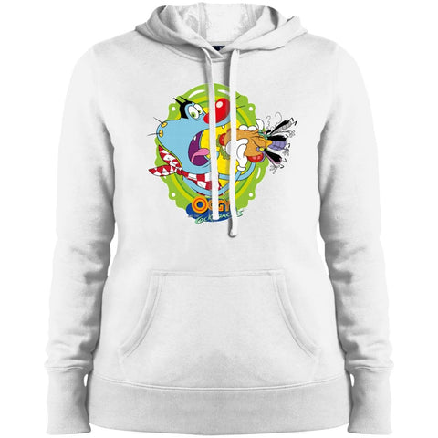 Oggy Sandwich - Ladies' Pullover Hooded Sweatshirt