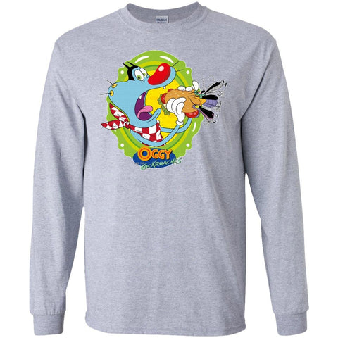 Oggy Sandwich - LS Ultra Cotton T-Shirt
